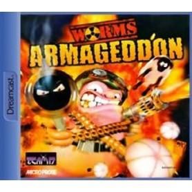Worms armageddon SEGA Dreamcast USATO-
