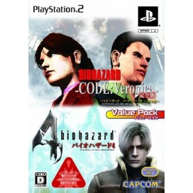 Biohazard Code: Veronica +Biohazard 4 (Value Pack) JAP
