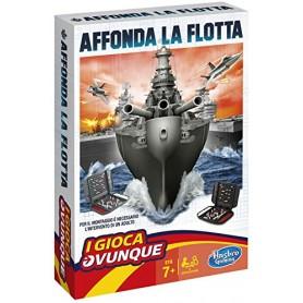 Hasbro Gaming - Affonda la Flotta Travel (Gioco in Scatola) - USATO