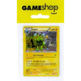 Pokemon Luxio carta foil in busta appendibile