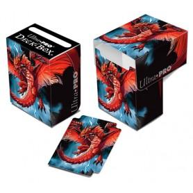 ULTRA PRO Porta mazzo verticale Herrera Demon Dragon 0/60