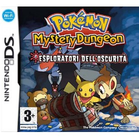 Pokemon Mystery D. Esploratori Oscurita' DS