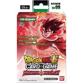 Dragon Ball Super - Mazzo Introduttivo 09 Saiyan Legacy