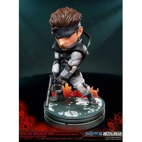 Metal Gear Solid PVC Painted Statue: Solid Snake