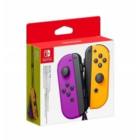 Nintendo Joy-Con Neon Purple & Orange Controller Switch