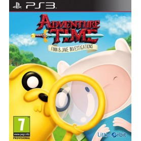 Adventure Time Finn & Jake Invest.PS3