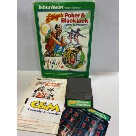 Poker Blackjack Mattel Intellivision USATO