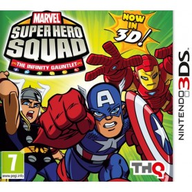Marvel Super Hero Squad 3DS-USATO