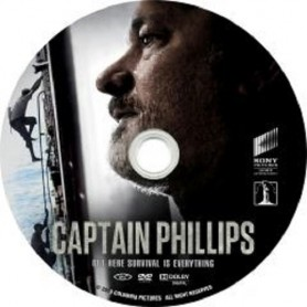 CAPTAIN PHILLIPS (solo disco) DVD USATO