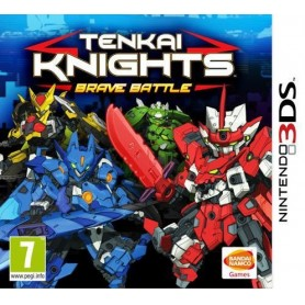 Tenkai Knights: Brave Battle 3DS USATO