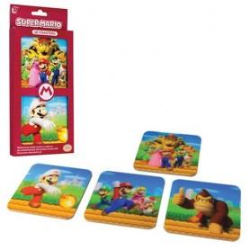 Super Mario 3D (Set 4 Sottobicchieri 3D)