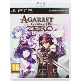 Agarest Generations Of War Zero Game PS3 USATO