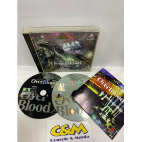 Over Blood Jap/ntsc PSX USATO