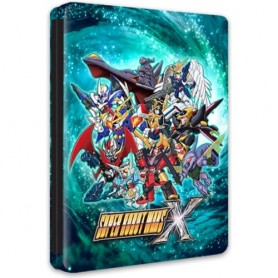Super Robot Wars X Solo Steelbook (no gioco)