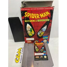 Spider-Man: Return of the Sinister Six Nintendo NES USATO