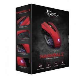 WHITESHARK Mouse GM-3006 Hannibal Rosso PC