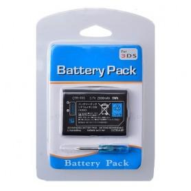 Batteria di ricambio 2000mah 3DS
