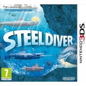 Steel Diver 3DS USATO