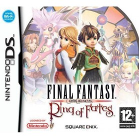 Final Fantasy Crystal Chronicles: Ring of Fates DS USATO