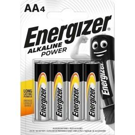 Energizer Alkaline AA Power Batteria 4 pz
