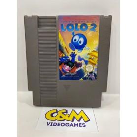 LOLO 2 Nintendo NES pal USATO
