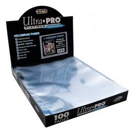 ULTRA PRO Platinum Series pagina con 3 fori,tasca grande (1pz)