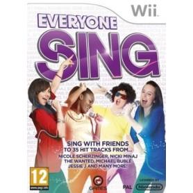 Everyone Sing WII USATO