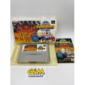 SD THE GREAT BATTLE Super Famicom Jap USATO