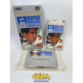 SUZUKI Aguri F1 Super Famicom Jap USATO