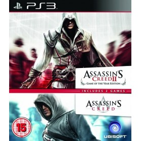 Assassin's Creed I & Assassin's Creed II - GOTY Ed.PS3