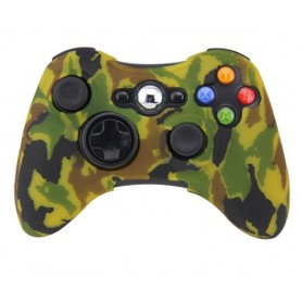 Cover silicone Controller Silicon case-Camouflage yellow X360