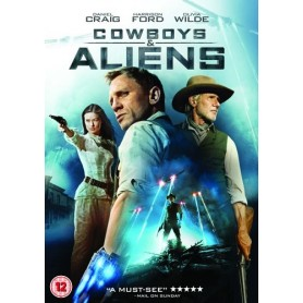 Cowboys and Aliens (solo disco) DVD USATO