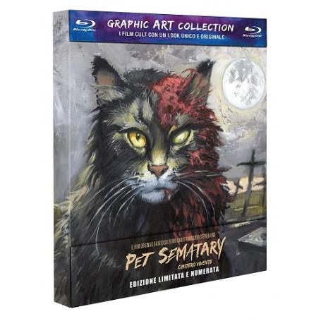 Pet Sematary: Cimitero Vivente - Graphic Art Collec.Blu-Ray  USATO -Sigillato-