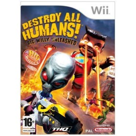 Destroy All Humans 3: Big Willy Unleashed WII UK