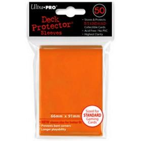 ULTRA PRO Proteggi carte standard da 50 bustine 66mm x 91mm Candy Orange 12/120