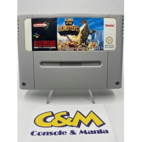 King Of The Monsters -Super Nintendo (pal) USATO