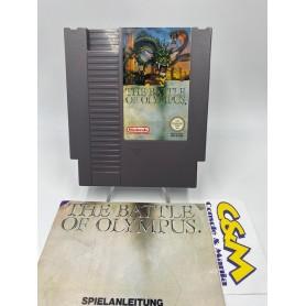 Thwe Battle of Olympus + Istruz.- (ITA) Nintendo NES USATO