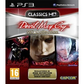 Devil May Cry HD Collection PS3 USATO