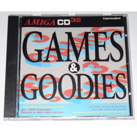 Amiga CD32 / CDTV Games and Goodies Game (100 GAMES+) USATO