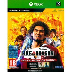 Yakuza: Like a Dragon - Day Ichi Edition XONE-SX