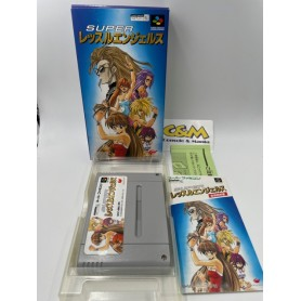 Wrestler Angels Super Famicom Jap USATO