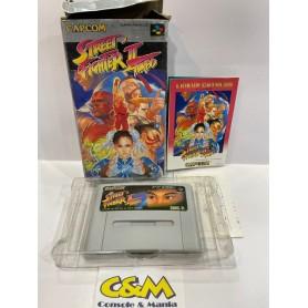 Street Fighter II 2 Turbo Nintendo Super Famicom Jap USATO