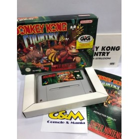 Donkey Kong Country Super Nintendo pal USATO