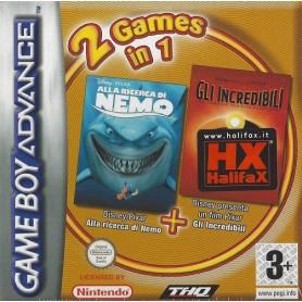 Gli Incredibili + Alla Ric. Di Nemo GBA