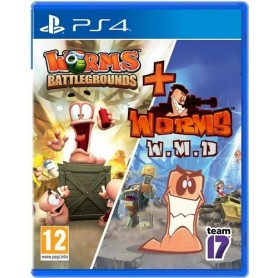 Worms Battlegr.& Worms WMD - Double Pack PS4