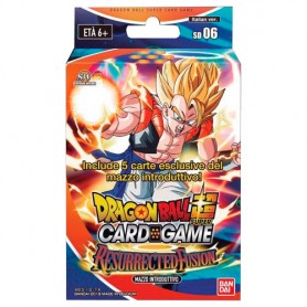 Dragon Ball Super Starter Deck 06 Resurrected Fusion