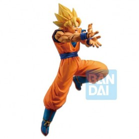 Dragonball Z PVC The Android Battle Statue Super Saiyan Son Goku