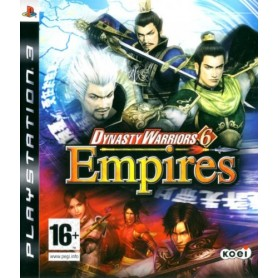 Dynasty Warriors 6 Empires PS3 USATO