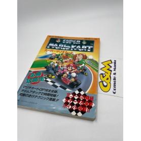 SNES Super Mario Kart Winning Guide Strategy USATO