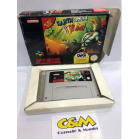 Earthworm Jim S.Nintendo pal USATO